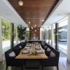 Urban Oasis Dining Room, Mexico City, designed by Sage Architecture