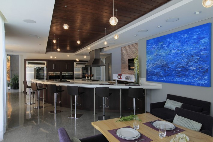 Urban Oasis kitchen, Mexico City, designed by Sage Architecture