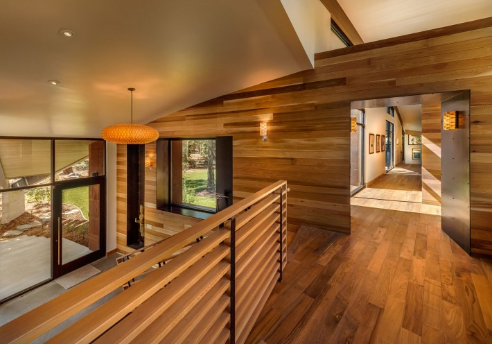 Sage Flight House, modern cabin in Truckee, CA by Sage Architecture