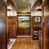 Craftsman home hallway